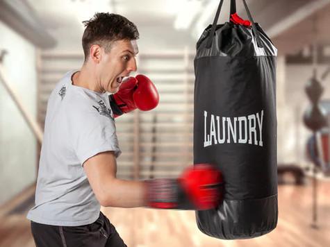 Tvättsäck och boxningssäck